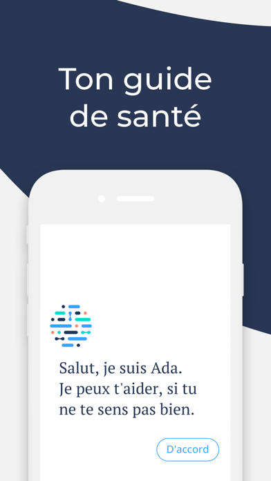 Screenshot #1 pour Ada, ton guide de santé