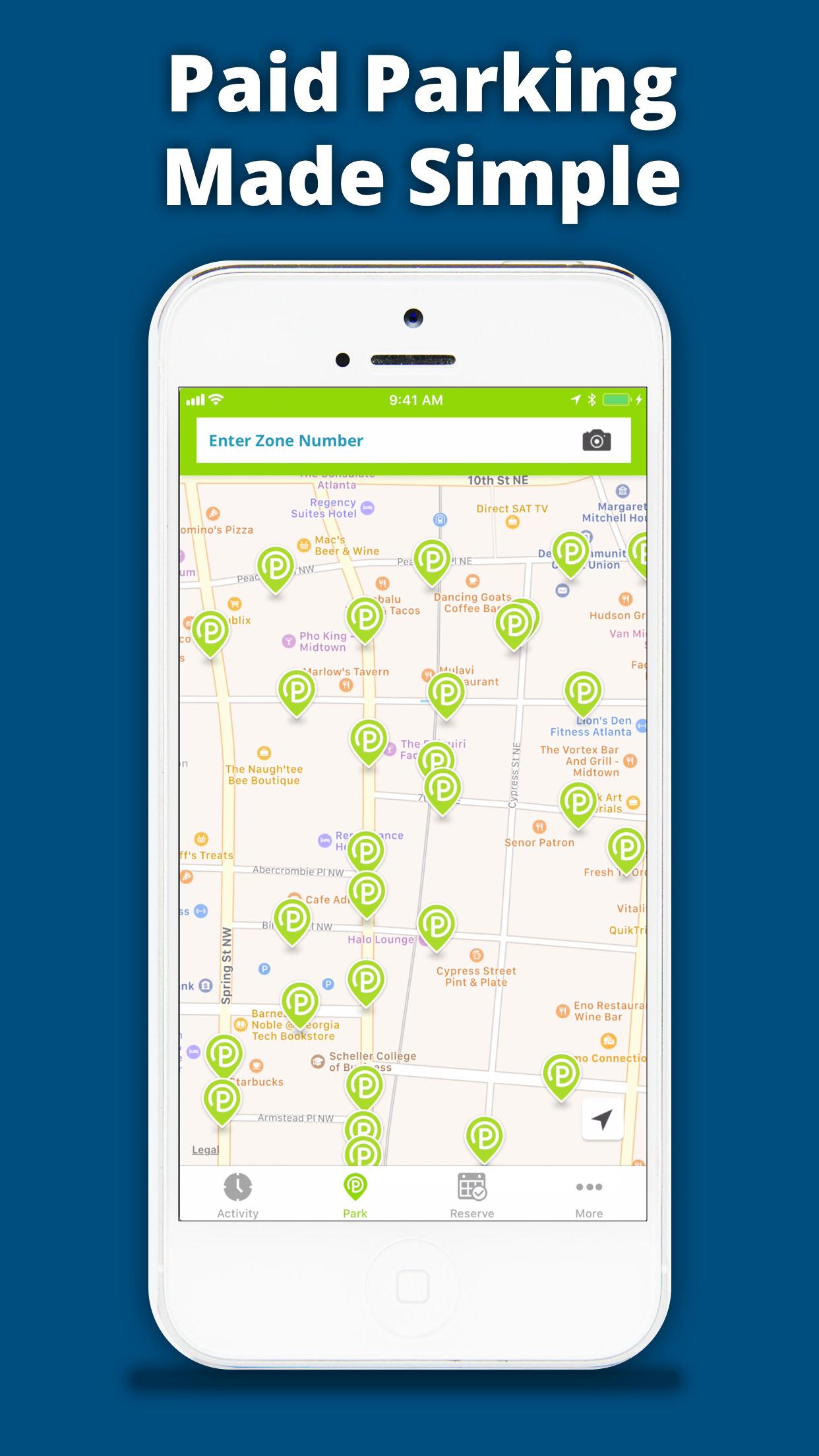 MPLS Parking Screenshot