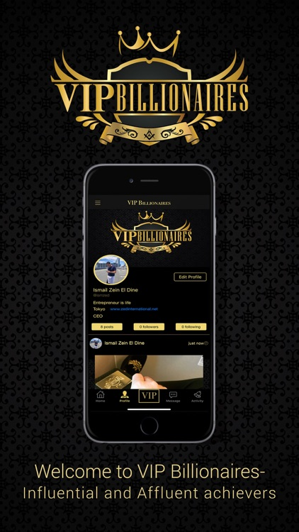VIP Billionaires - Social Chat screenshot-1