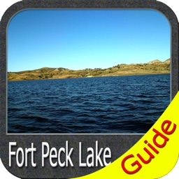 Fort Peck lake map - Montana GPS fishing charts