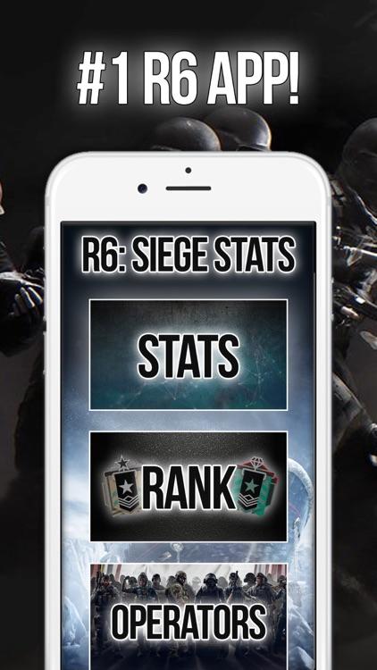 R6: Siege Stats