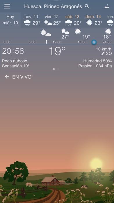 Screenshot for Meteorología Exacta Yowindow in Chile App Store