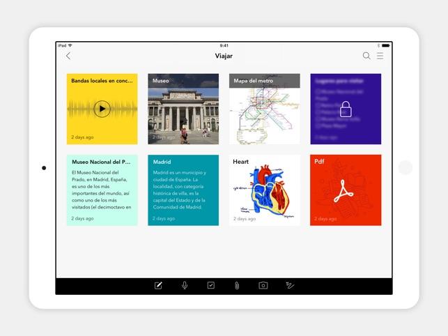Notebook - Take Notes, Sync en App Store