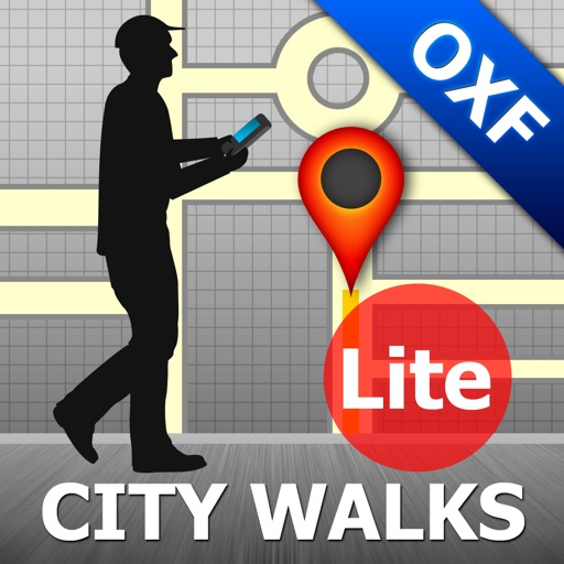 Oxford Map and Walks iOS App