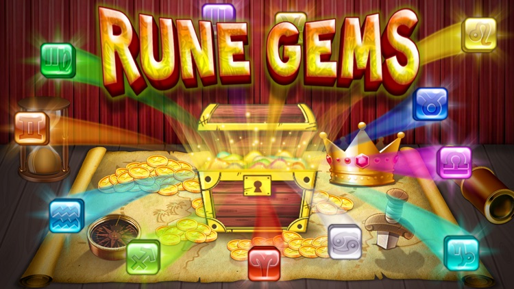 Rune Gems - Block n Tile Crush