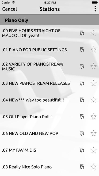 PIANOSTREAM screenshot-3