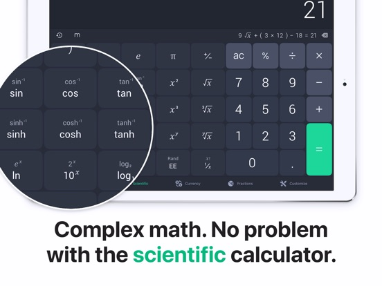 The Calculator. Screenshots