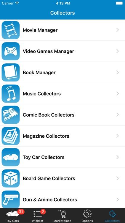 Toy Car Collector Database screenshot-4