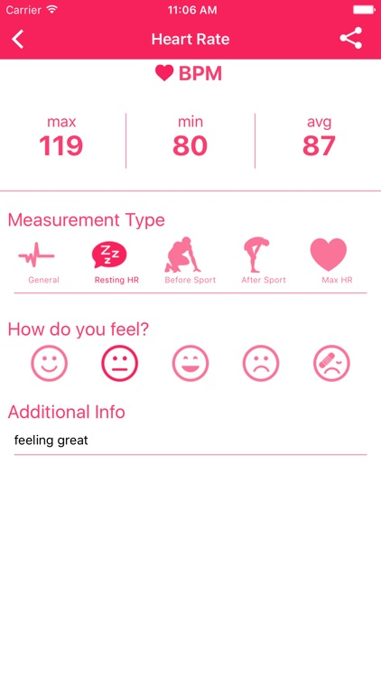 Heart Rate Monitor (Pulse Tracker) screenshot-2