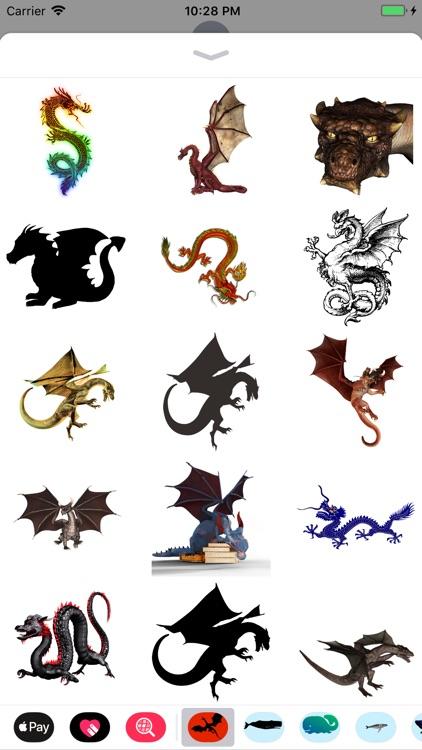 Dozens of Dragon Stickers