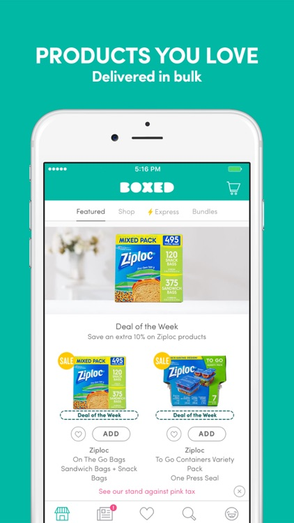 Boxed: Stock Up & Save with Online Wholesale