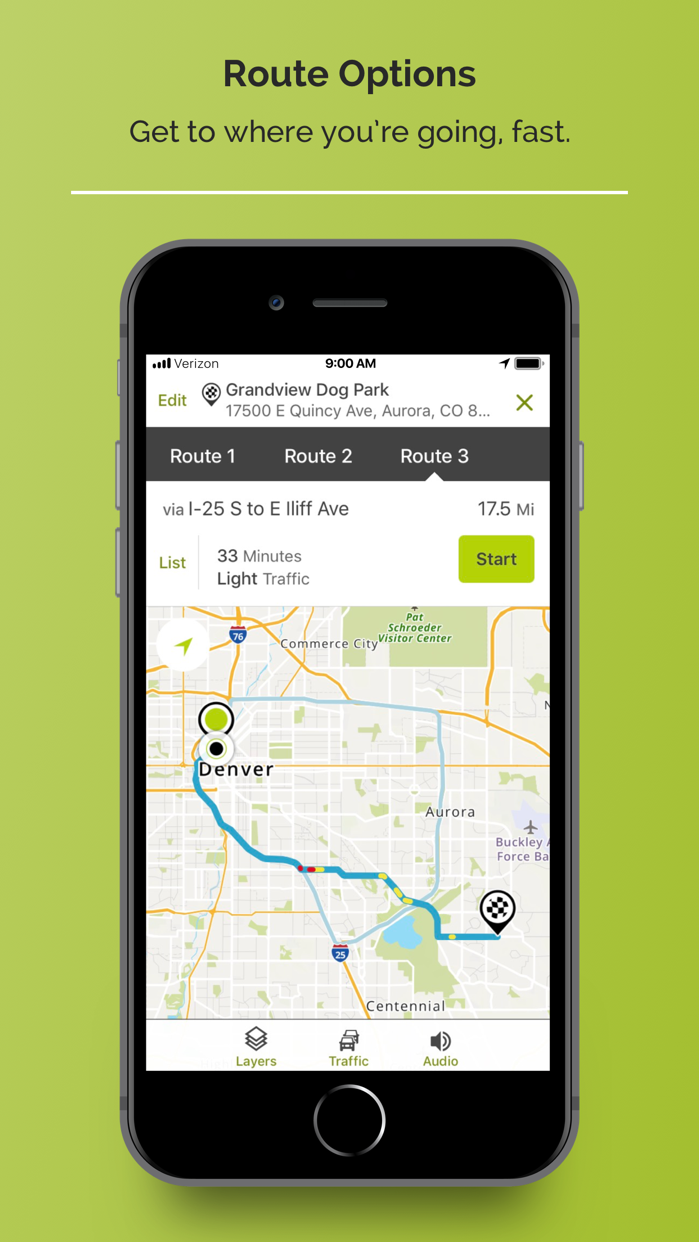 MapQuest: Navigation & Maps Screenshot