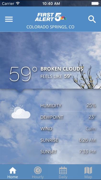 First Alert 5 Weather App