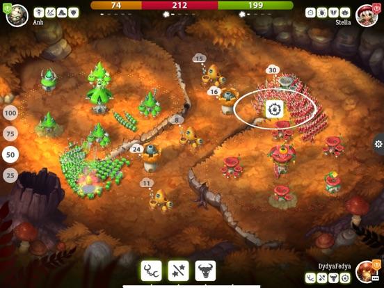 Mushroom Wars 2: Битвы грибов для iPad