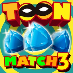 Cartoon Racoon Match 3 HD
