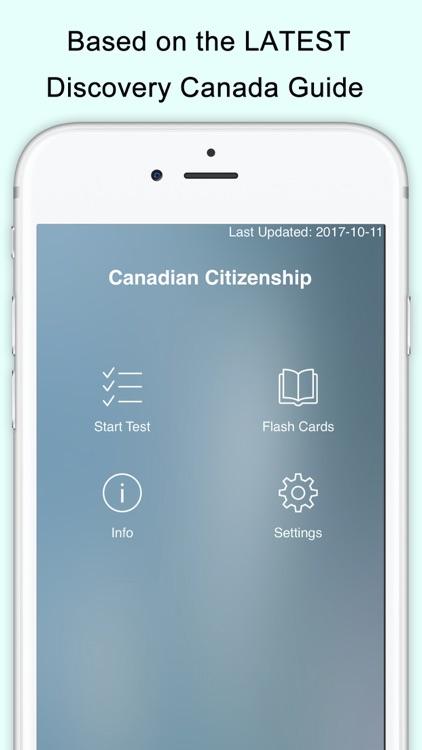 Canada Citizenship Test Prep screenshot-3