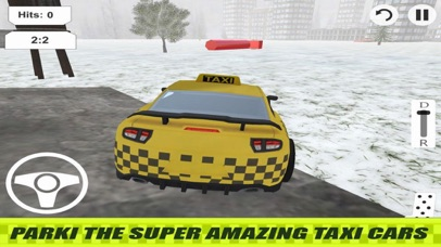 Lever Taxi Parking City screenshot 2