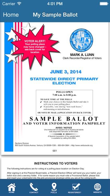 Ventura County Elections screenshot-3
