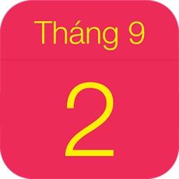 Lịch Việt - Lịch Vạn Niên 2019
