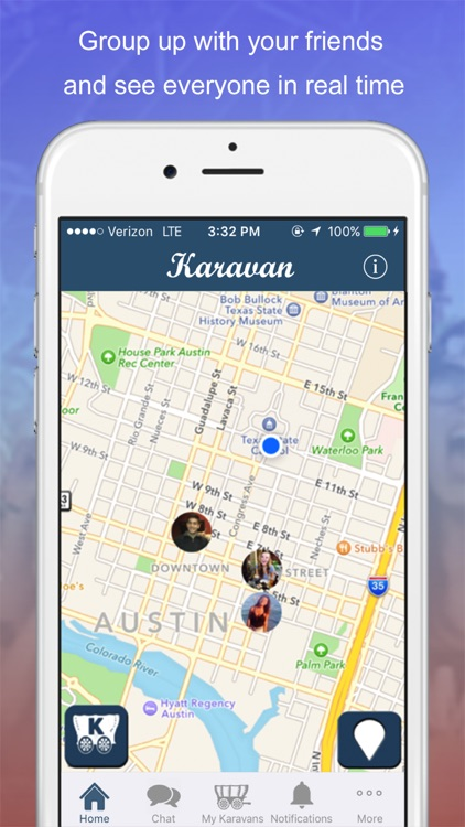 Find Friends & Phone – Karavan