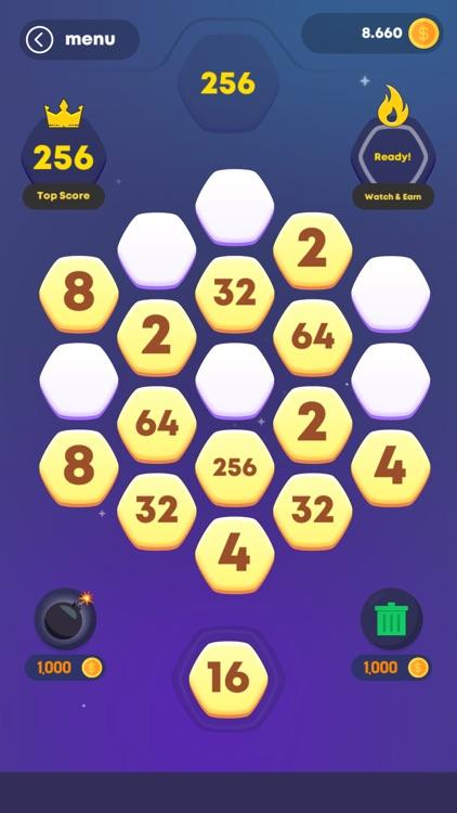 Hexa! Merge screenshot-3