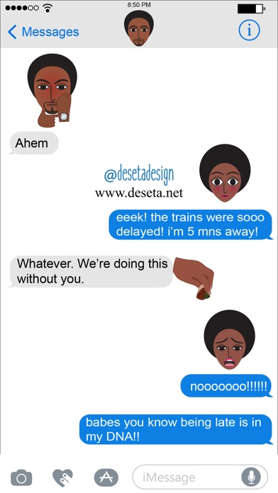 Screenshot for Deseta Emojis in United States App Store
