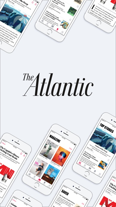 Screenshot for The Atlantic Magazine in United States App Store