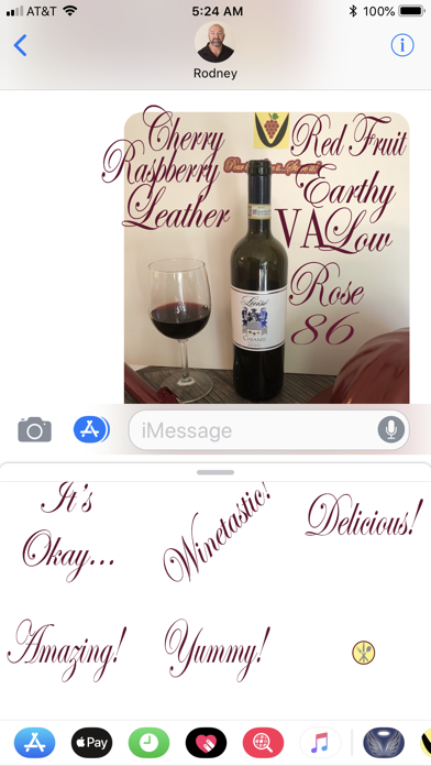 Grape Cluster Wine Scoring screenshot three