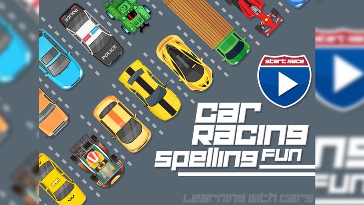 Car Racing Spelling Fun