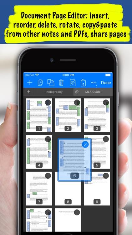 Notes Writer Pro- Sync & Share screenshot-3