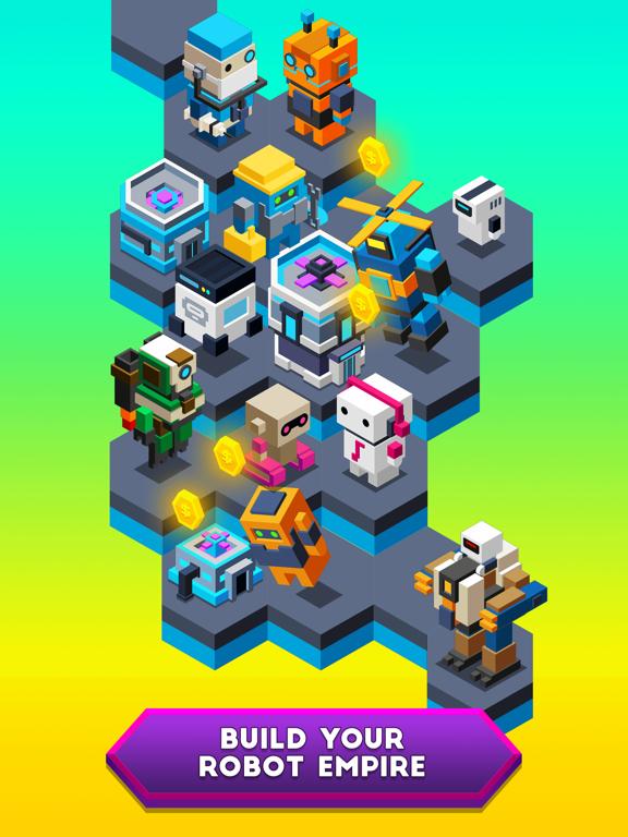 Robot Merge screenshot 2