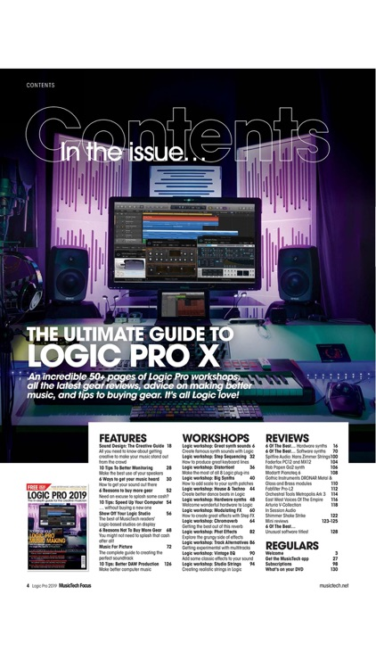 MusicTech Focus Magazine screenshot-2