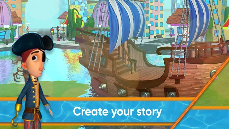 MovieToons - 3D cartoon maker! screenshot-0