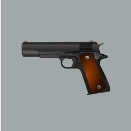 Gun Stickers - Bam!!