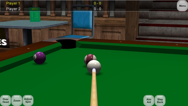 Virtual Pool Lite screenshot-3