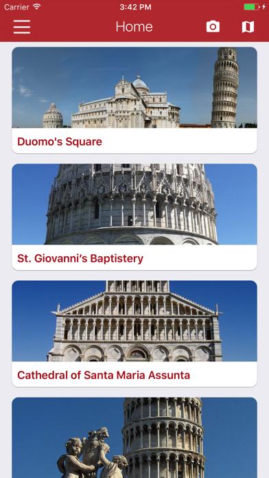 Pisa Miracles Guide screenshot one