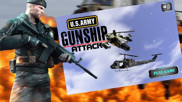 Army Gunship Attack