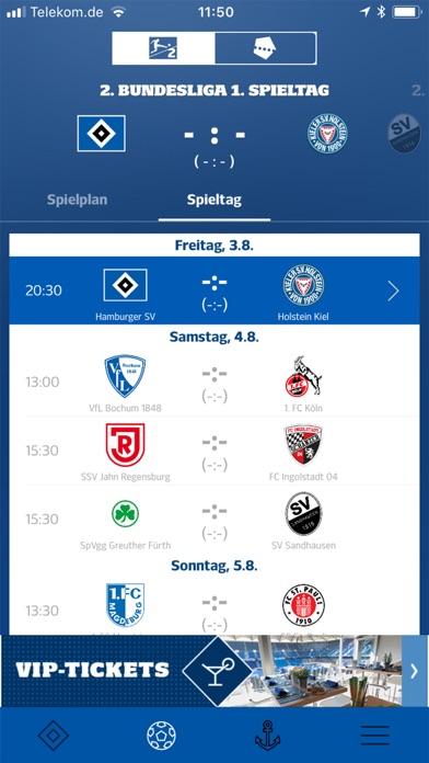 Screenshot for Hamburger SV in Germany App Store