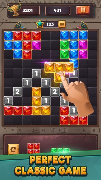 Puzzle Game : Block Jewels screenshot-4