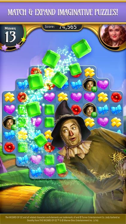 The Wizard of Oz Magic Match 3 screenshot-4