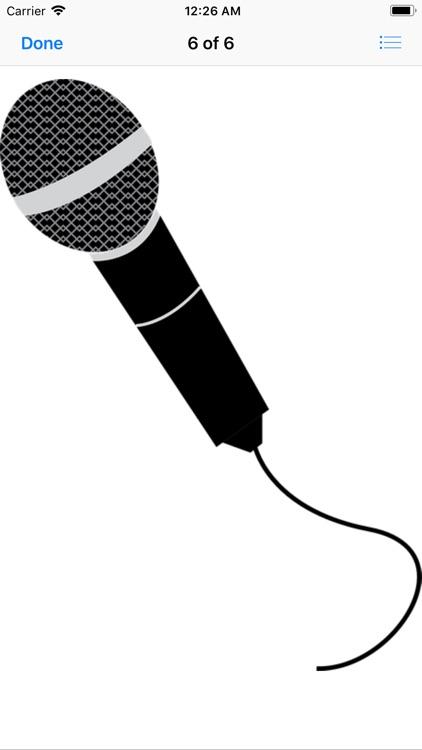 Microphone Stickers screenshot-5
