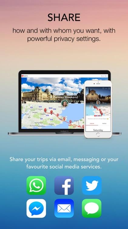 Esplorio - Travel journal,blog screenshot-4