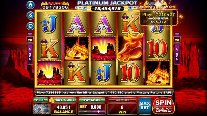 Players Paradise Slots Screenshot