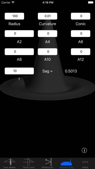 OpticsCalc screenshot four