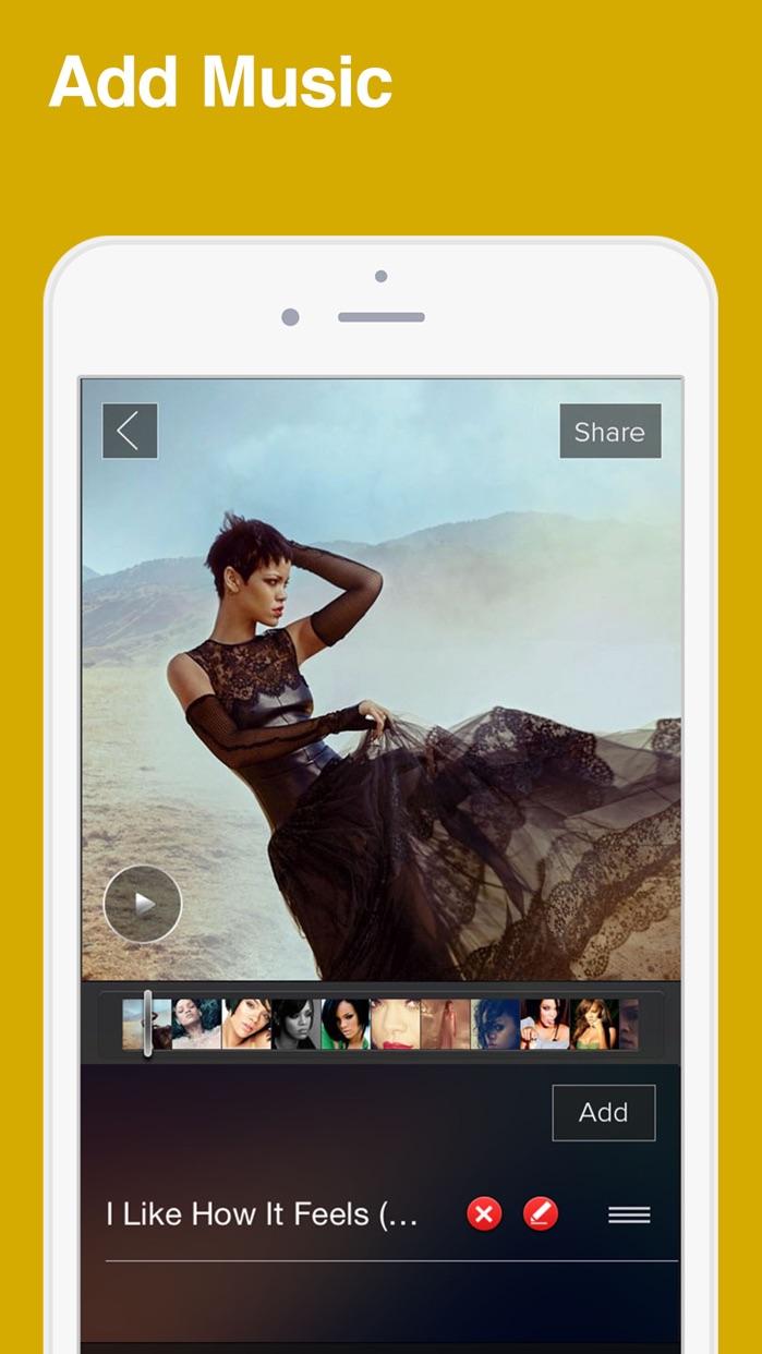 SlideShow Movie to Video Maker Screenshot