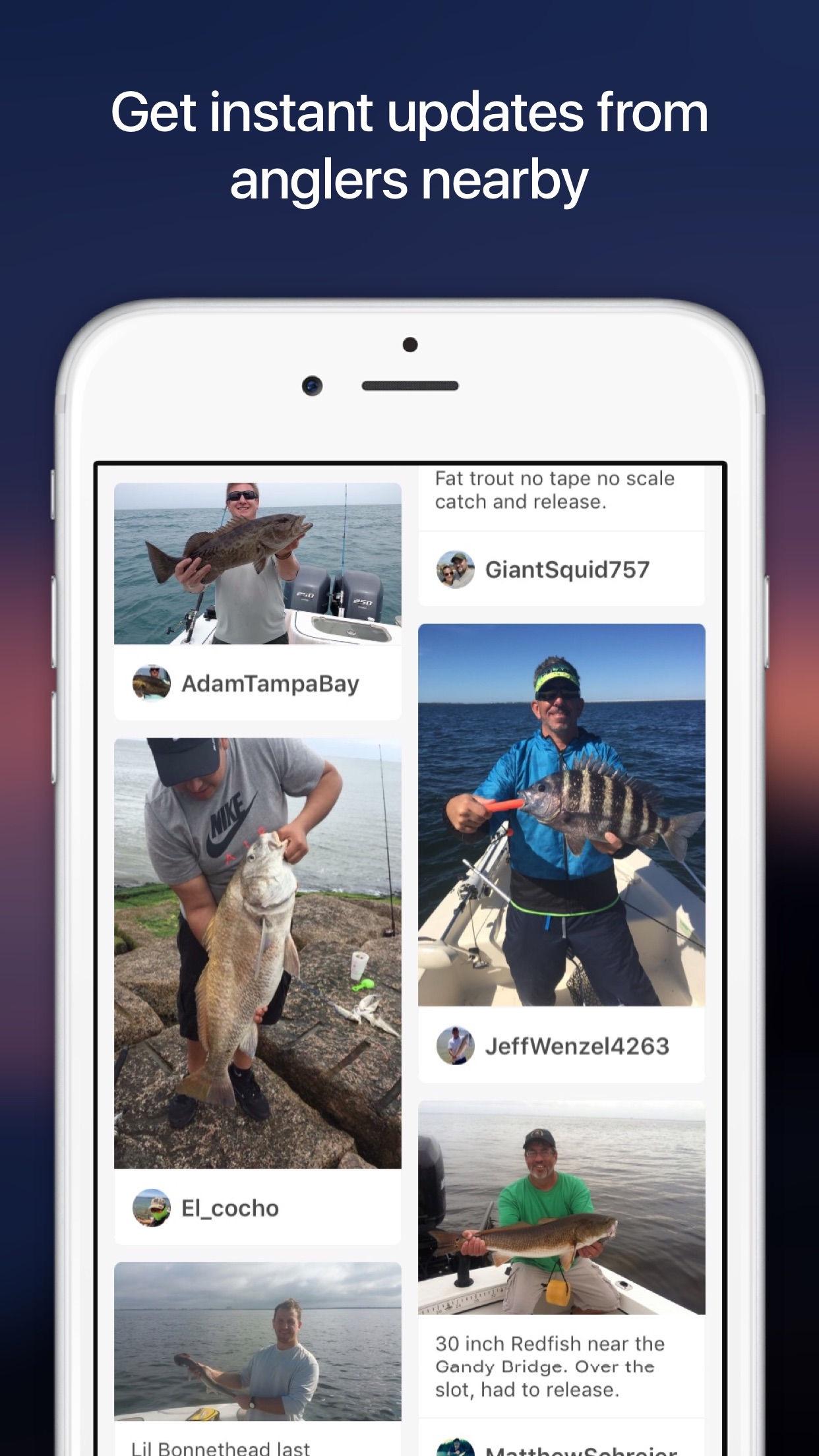 Fishbrain - Social Fishing Screenshot
