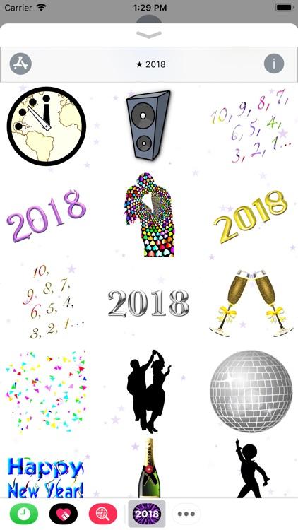 Happy New Year 2018! screenshot-3