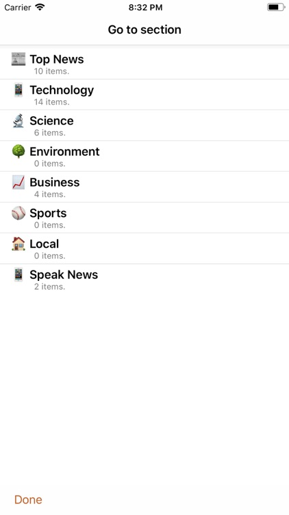 Speak News - RSS news reader screenshot-6