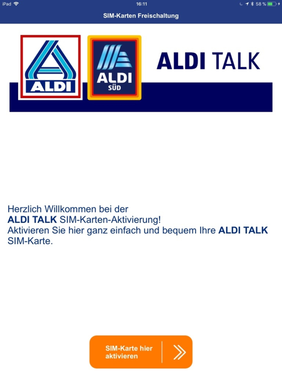 Sim Karte Aldi Talk.Aldi Talk Registrierung App Price Drops