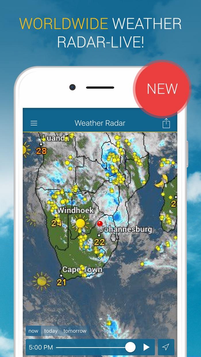 Weather & Radar Screenshot